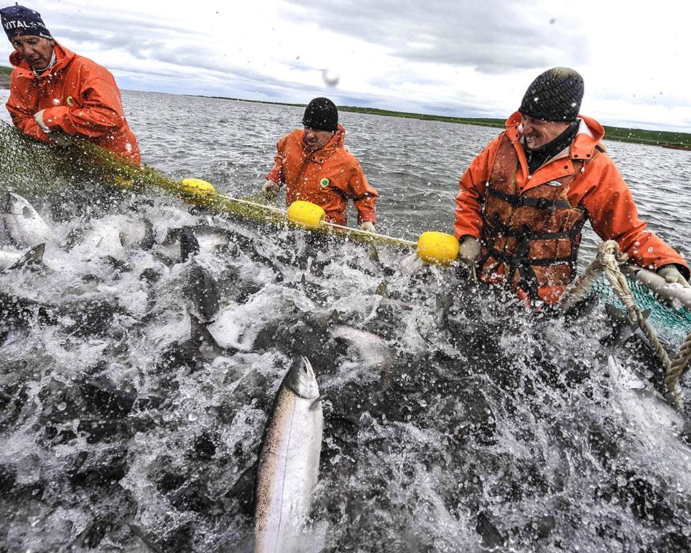 морская промысловая рыбалка